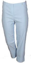 Robell - Marie 7/8 pants with rolled-up and 2 back pockets