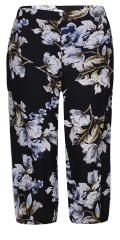 Zhenzi - Pants loose fit knickers i fast stof med delvis elastik i taljen