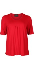 Q'neel - It well-known strechy t-shirt with new length in the sleeve, super stylish quality viskose-jersey