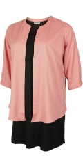 Gozzip - Nice shirt blouse with china collar and pleat in the back