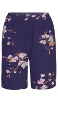 Zhenzi - Shorts med elastik i hele taljen og 2 lommer
