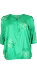 Cassiopeia - Blouse with 3/4 sleeves and