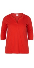 Zizzi - T-shirt with 3/4 sleeves and