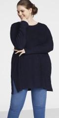 Zizzi - Ribgestrickt pullover