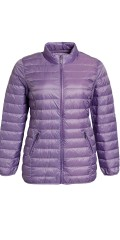 CISO - Light downy jacket with 2 zipper pockets