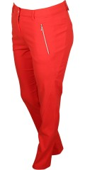 Zhenzi - Stomp pants legging fit, twill with super stretch and adjustable rubber band in the waist