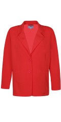 Zhenzi - Soft and stylish suitjacket/blazer-jacket in light strækbart material
