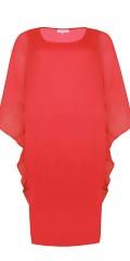 Zhenzi - Trevlig klänning med oversize chiffon topp