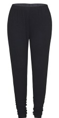 Zhenzi - Jersey leggings with high waist and wide rubber band