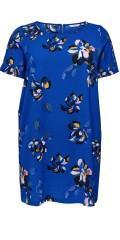 ONLY Carmakoma - Carlux cecilia kortærmet dress kjole i fast stof