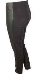 Adia Fashion - Strechy legging med elastik i taljen og snake printet forside