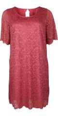 Zizzi - Emelanie Spitze Kleid mit 1/2 Ärmeln und hübsch aussehen bis der Rücken