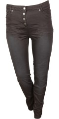 Samba pants, twill, super slim fit med super strech og regulerbar elastik i taljen