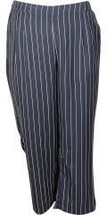 Cassiopeia - Smart bukser/ankel bukse i hard stoff med vidde på benene. Delvis strikk i taljen
