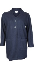 CISO - Coatigan jacket in nice wool quality with pockets