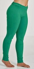 Sandgaard - Basis tøyelig bengalin bukse med strikk i taljen samt beltestropper
