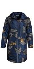 CISO - Parka jakke med hette, som kan laced, sydd i en flott vattert materiale