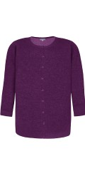 Zhenzi - All-buttoned cardigan with wool and with pockets