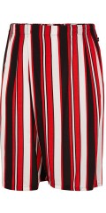 Adia Fashion - Shorts in fresh stripes and rubber band in the waist on the back
