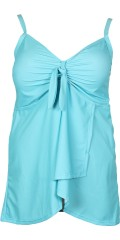 Tankini with adjustable straps and smart stichings.