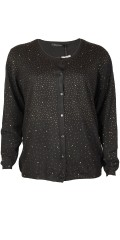 Cassiopeia - Chellie knit cardigan with nice diamonds