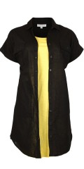 Zhenzi - Skjorte kjole med både bryst og lommer