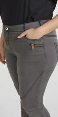 Zizzi - Amy super slim jeans med bæltestropper og 5 lommer