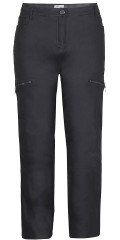 Zhenzi - Stomp pants coated twill