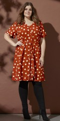 Zhenzi - Coat dress in retro style