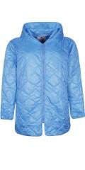 Zhenzi - Dyne jakke med hætte og 2 skrå lommer