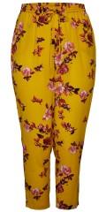 ONLY Carmakoma - Loose fit Hosen mit Elastik und binden in Taille sowie Taschen