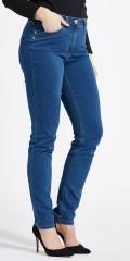 LauRie - Charlotte regular bukse med 5 lommer og beltestropper
