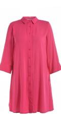 Studio Clothing - Lang gjennomknappet storskjorte