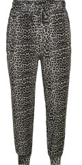 Zizzi - Night trousers in leopard/animalprint