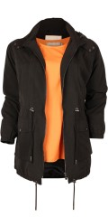 ONLY Carmakoma - Nice spring windbreaker with with thin lining and detachable cap