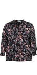Zhenzi - Shirt blouse in flowers print