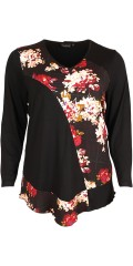 Handberg - Blouse with floral print