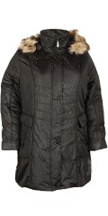 Handberg - Down jacket with nice animal print