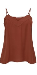 ONLY Carmakoma - Sweet top with adjustable spaghetti-straps