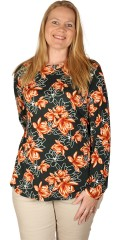 CISO - Bluse i blomstret print