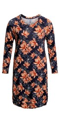 CISO - Dress in flowery print