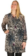 CISO - Shirt/tunica with leopard print