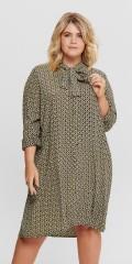 ONLY Carmakoma - Genomknappad skjortklänning