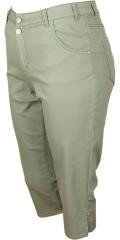Cassiopeia - Noraen Piraten Hose mit Stretch, Regulierbar Elastik in die Taille, Taschen, zwei Knöpfe sowie klein Schlitzen in den Beinen