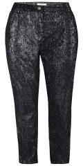 Zhenzi - Stomp pants, bengaline with silver mica