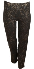 Robell - Pants with nice gold print