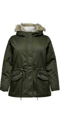 ONLY Carmakoma - Carruby liten parka coat