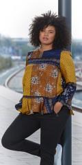 Zoey - Mønstret genser