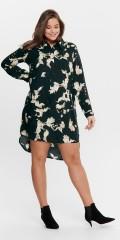 ONLY Carmakoma - Carcaru life tunic Kleid, Hemdkleid