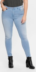 ONLY Carmakoma - Augusta jeans light denim
